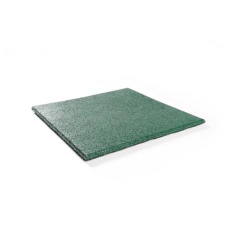 Rubber tegel 50x50x2,5 cm grijs