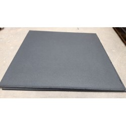 100x100 cm Compact Fitness tegel compact rubber