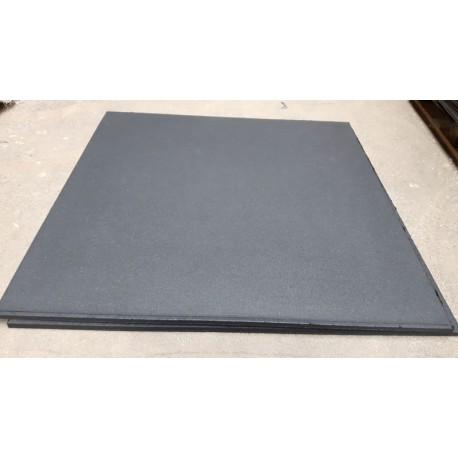 Ongekend 100x100 cm Compact Fitness tegel compact rubber - Rubber tegel OG-79